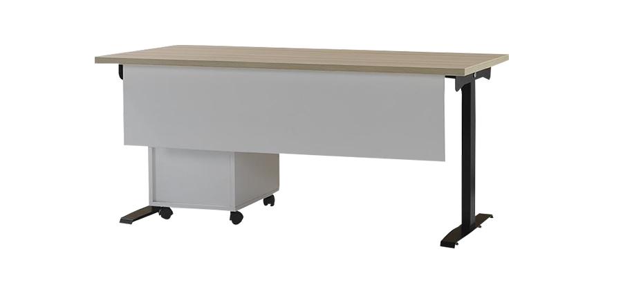 M-WORK 140 RECTANGULAR MELAMINE COATING OFFICE TABLE  0