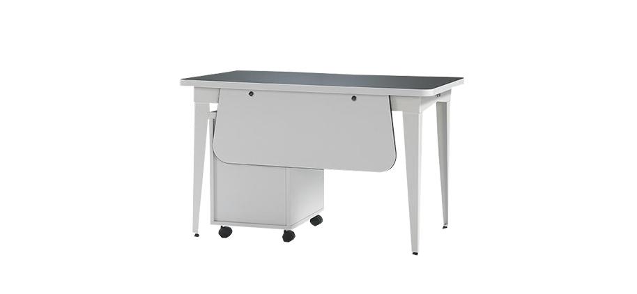 M-WORK 160 RECTANGULAR MELAMINE COATING OFFICE TABLE  0