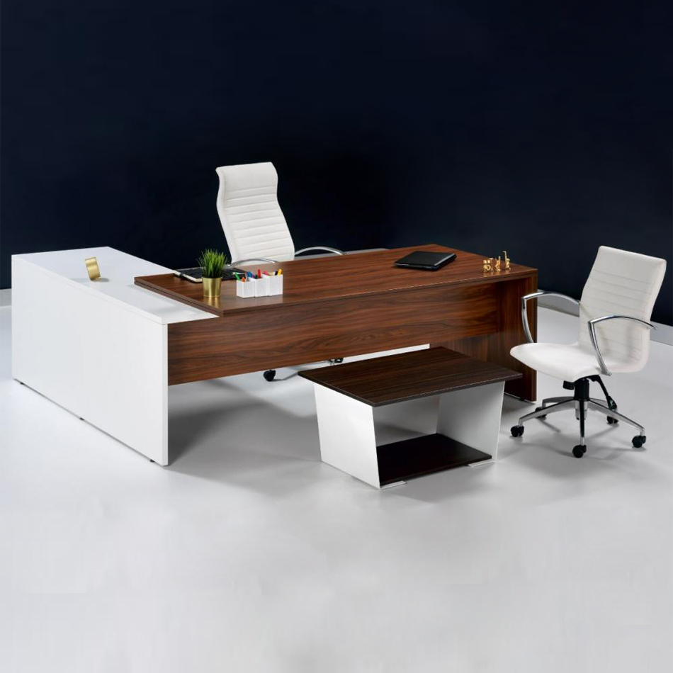 WOO 200 MELAMIN COATED EXECUTIVE OFFICE TABLE  0