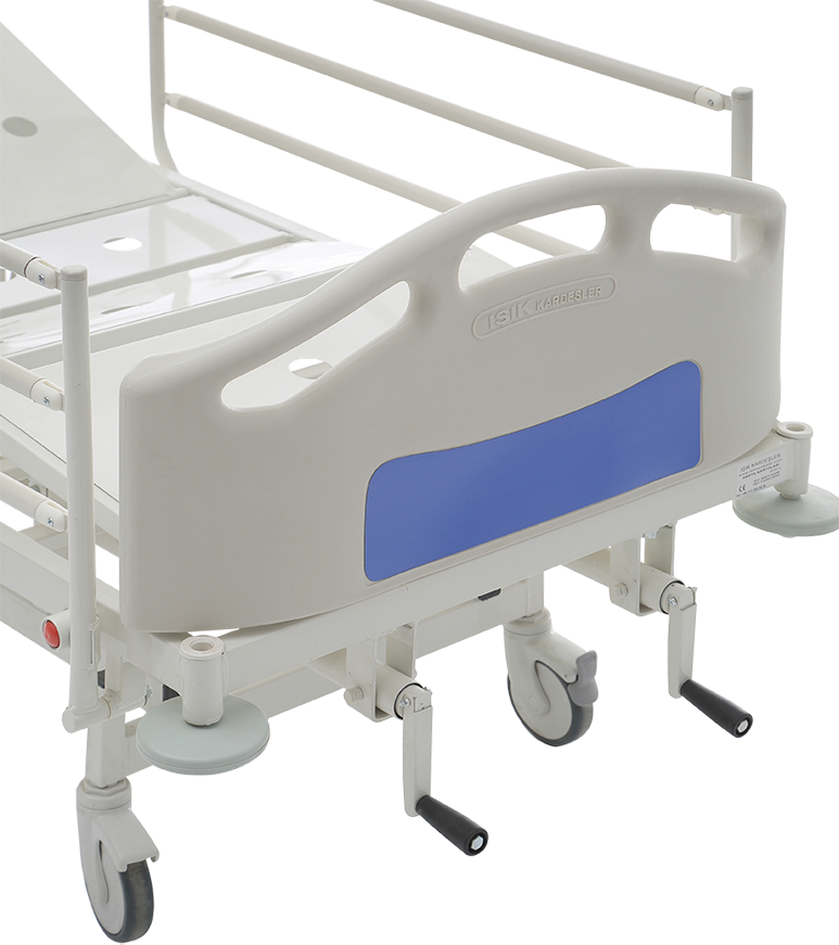 HKM-PB10 MECHANICAL HOSPITAL BED WITH 2 ADJUSTMENT Detail 2