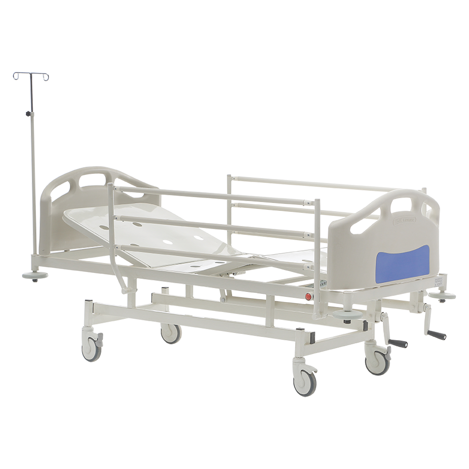 HKM-PB10 MECHANICAL HOSPITAL BED WITH 2 ADJUSTMENT Detail 0