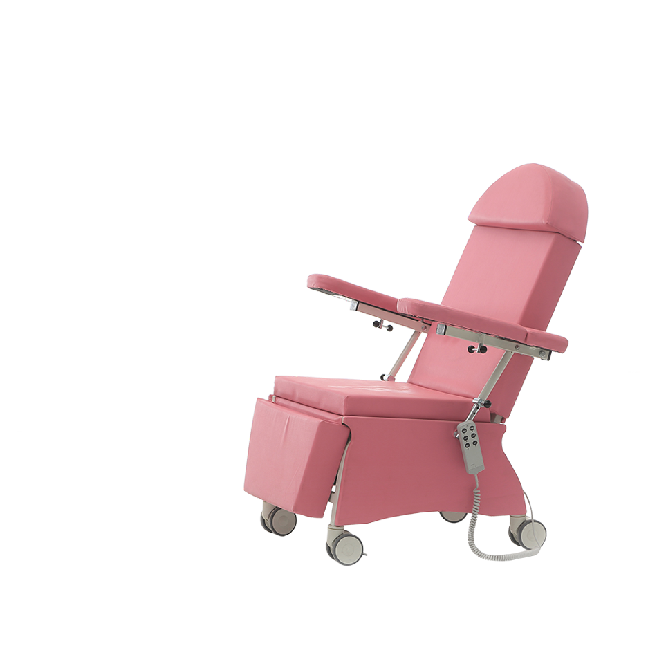 KALX-30 BLOOD TRANSFUSION CHAIR WITH 2 MOTORS  2