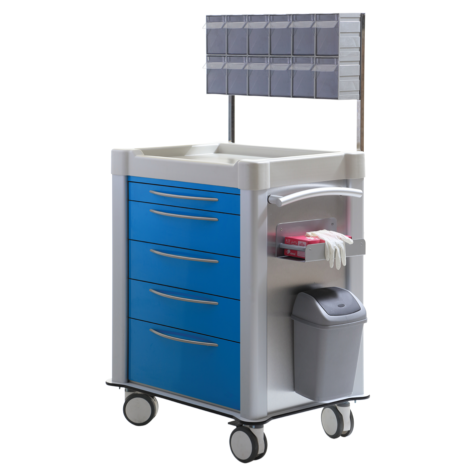 TECHNOplus TPS-3025 MEDICINE & TREATMENT CART